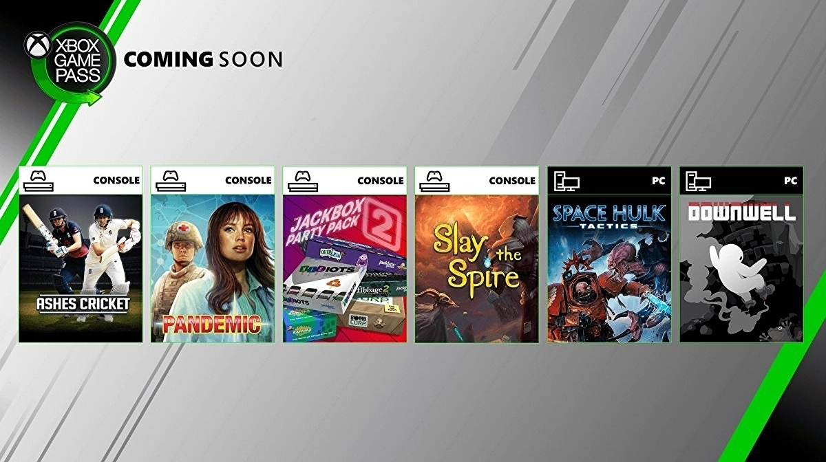 Xbox announces six more titles coming to Game Pass in August