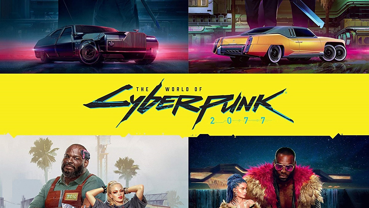 The World of Cyberpunk 2077 hardcover lore book launches next year