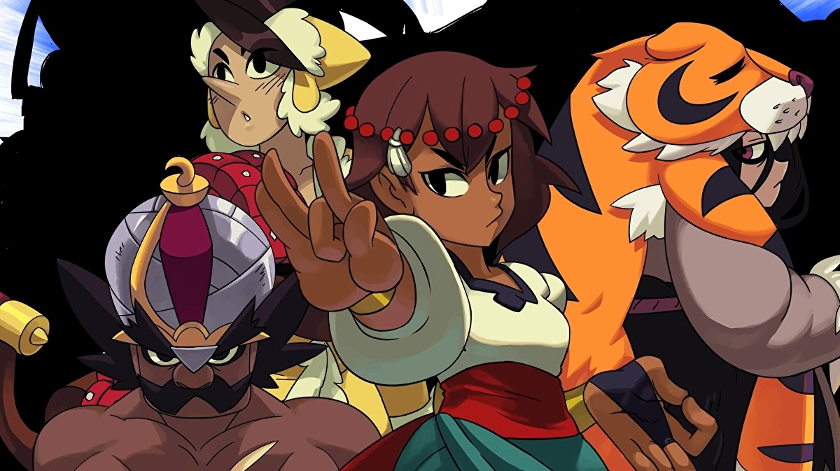Skullgirls dev's gorgeous hand-drawn action platformer Indivisible out in October
