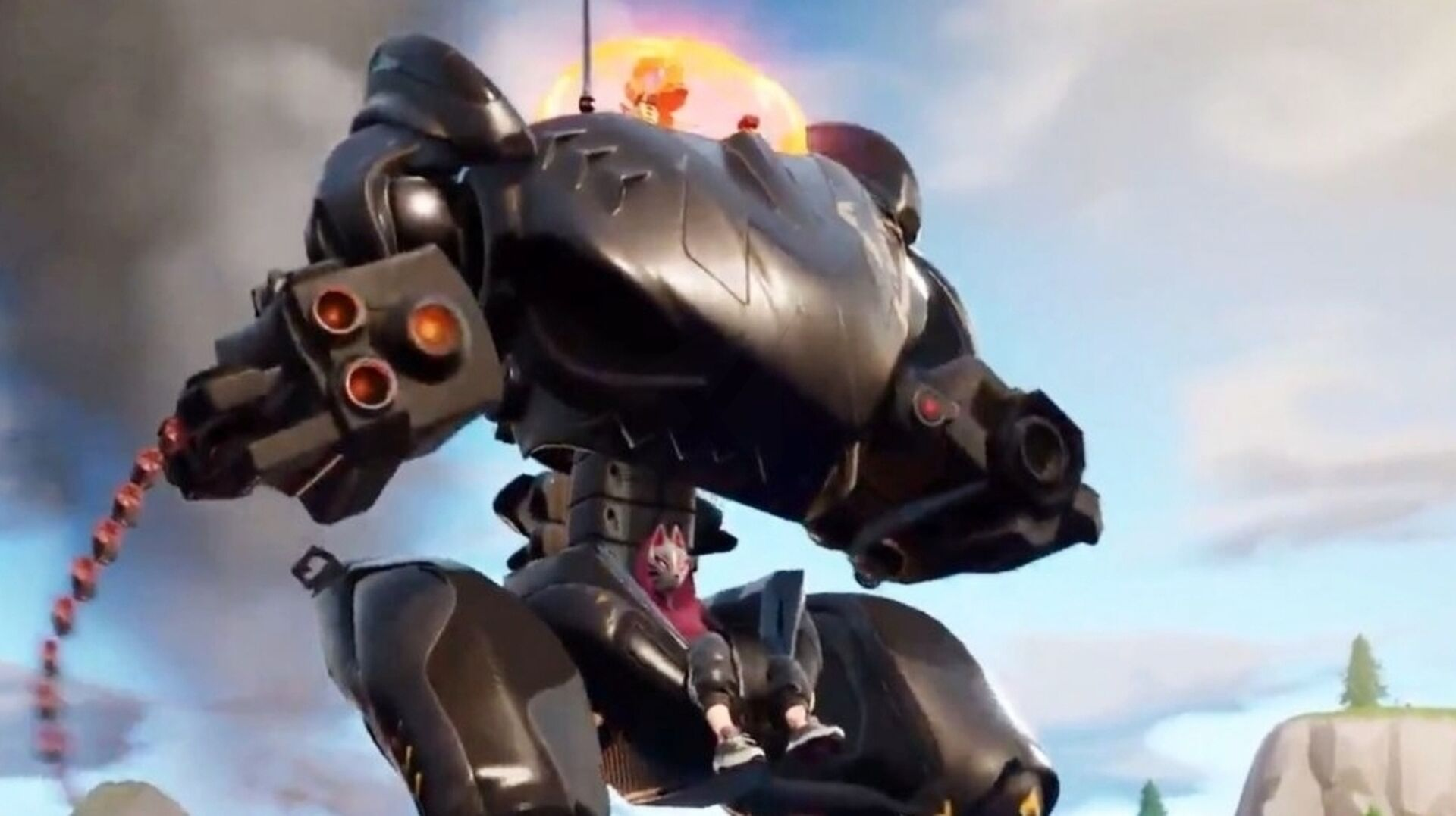 Now Epic drastically reduces chance Fortnite's hated mechs will