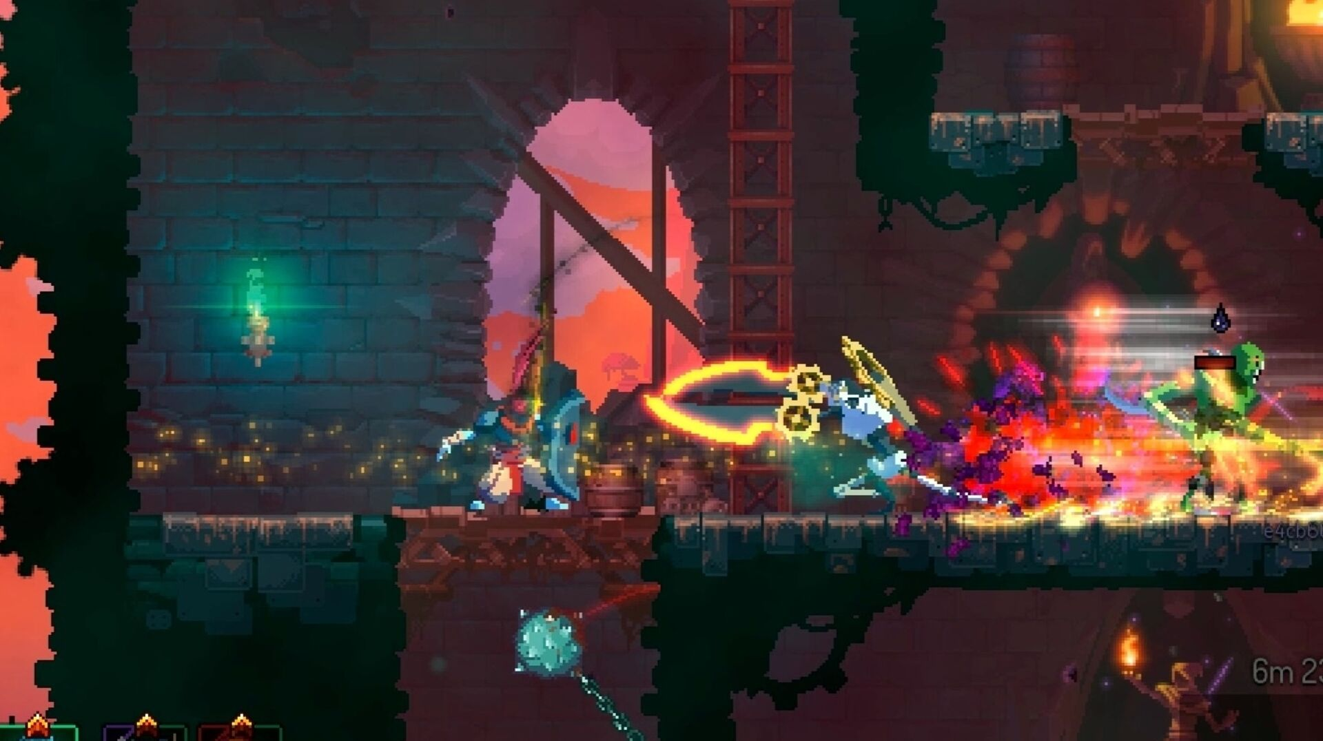 Dead Cells 14th Free Update Adds Tiny Versions Of Bosses Devastating Frying Pan Eurogamer Net