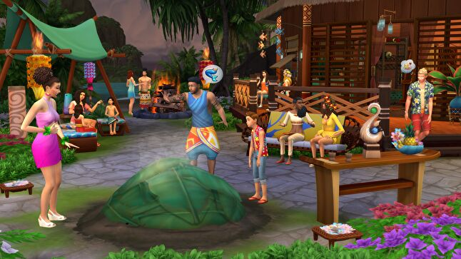The Sims, though grounded in reality, frequently includes encounters with the extraordinary, such as the introduction of mermaids in a recent expansion