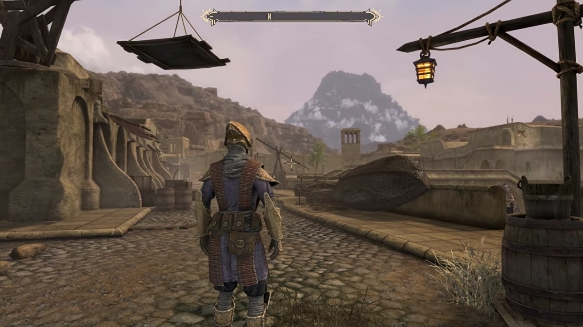 New Skywind gameplay shows just how impressive the Morrowind rebuilt in Skyrim mod is shaping up to be
