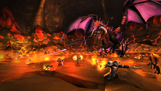 Onyxia is one of several original raid bosses making a return in World of Warcraft Classic for players to fight in the challenging way she was originally intended