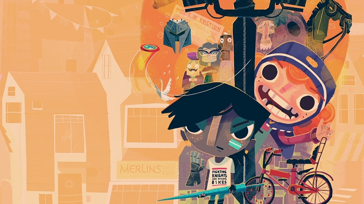 Knights and Bikes review - a heartfelt action-adventure that's best enjoyed together