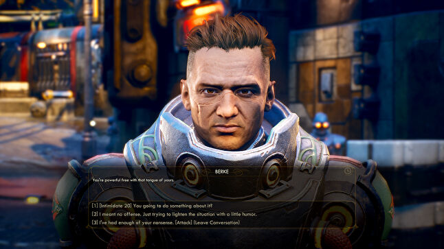 Obsidian has tried to ensure each corporation has a human face in the form of characters that players interact with, making them more relatable