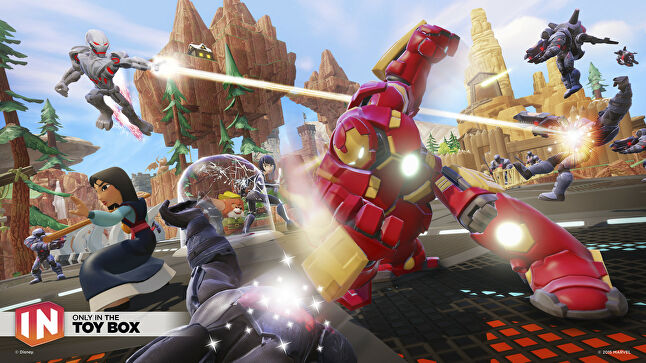 Disney Infinity 2.0 and 3.0 were the only internally developed Disney Interactive titles to use the Marvel universe