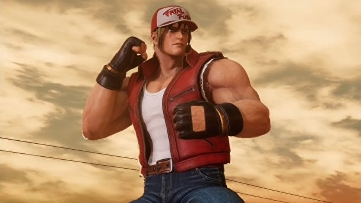 Fatal Fury's Terry Bogard is joining Super Smash Bros. Ultimate