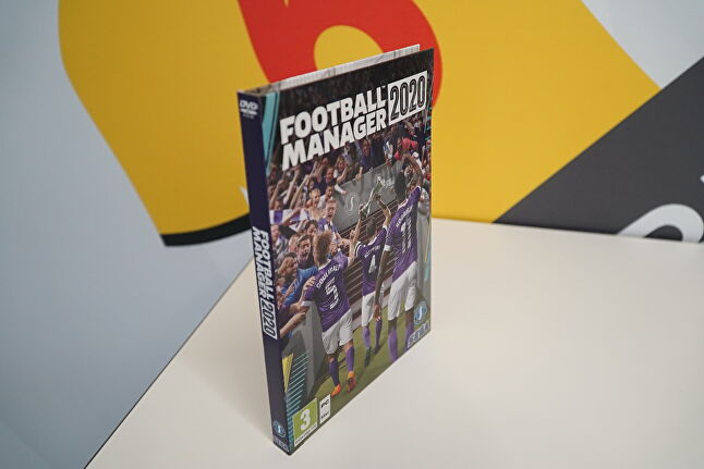 The new Football Manager packaging is made from recycled material and is entirely recyclable itself