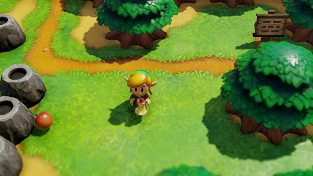 Link's Awakening has an all-new visual style and (almost) all-old gameplay