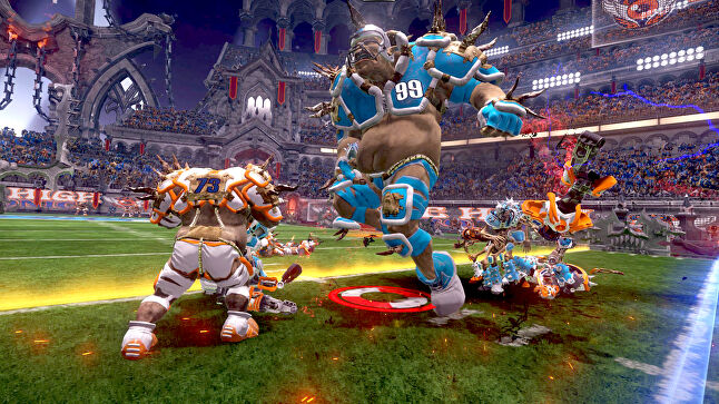 Mutant Football League, which is already out on Steam, Xbox One, PS4, and Nintendo Switch, is one of over 160 games already secured for TurboPlay