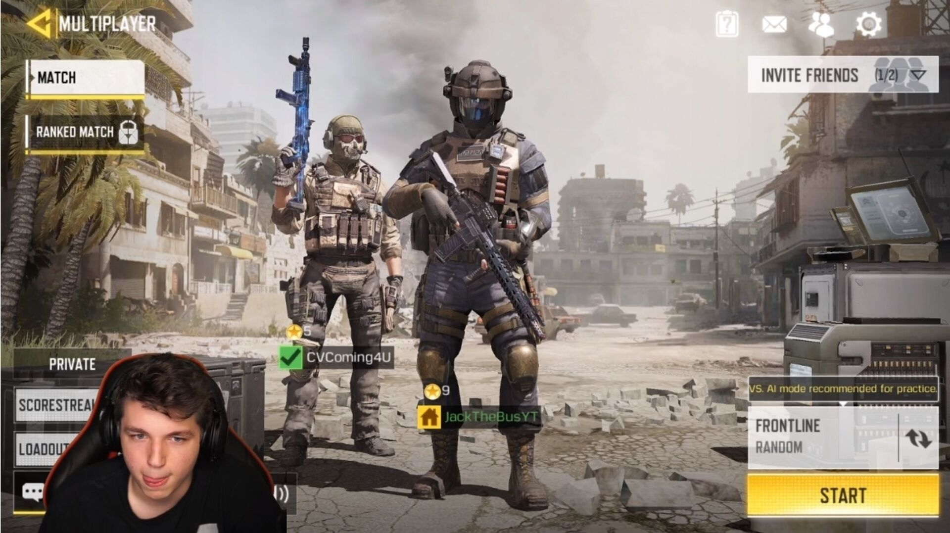 call of duty mobile thumbnail no text