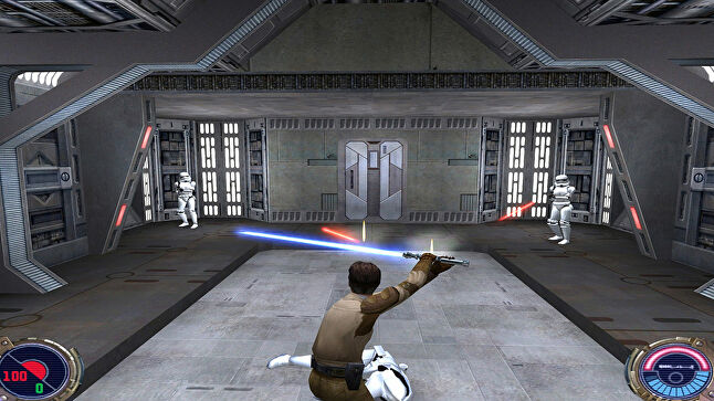 Jedi Outcast arrived on Nintendo Switch last week