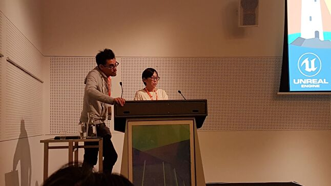 Matsumae was one of many international speakers at the various events of Melbourne Games Week