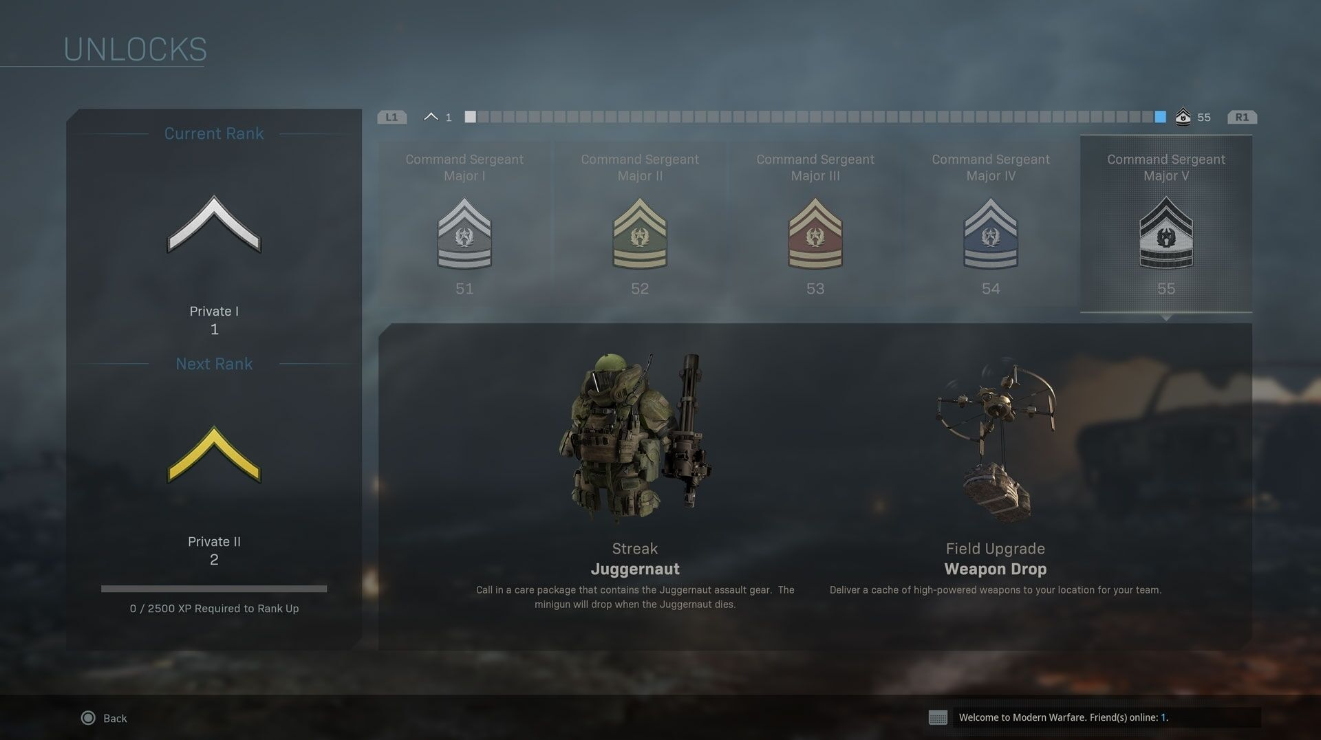 Call Of Duty Modern Warfare Ditches Prestige For Officer Ranks