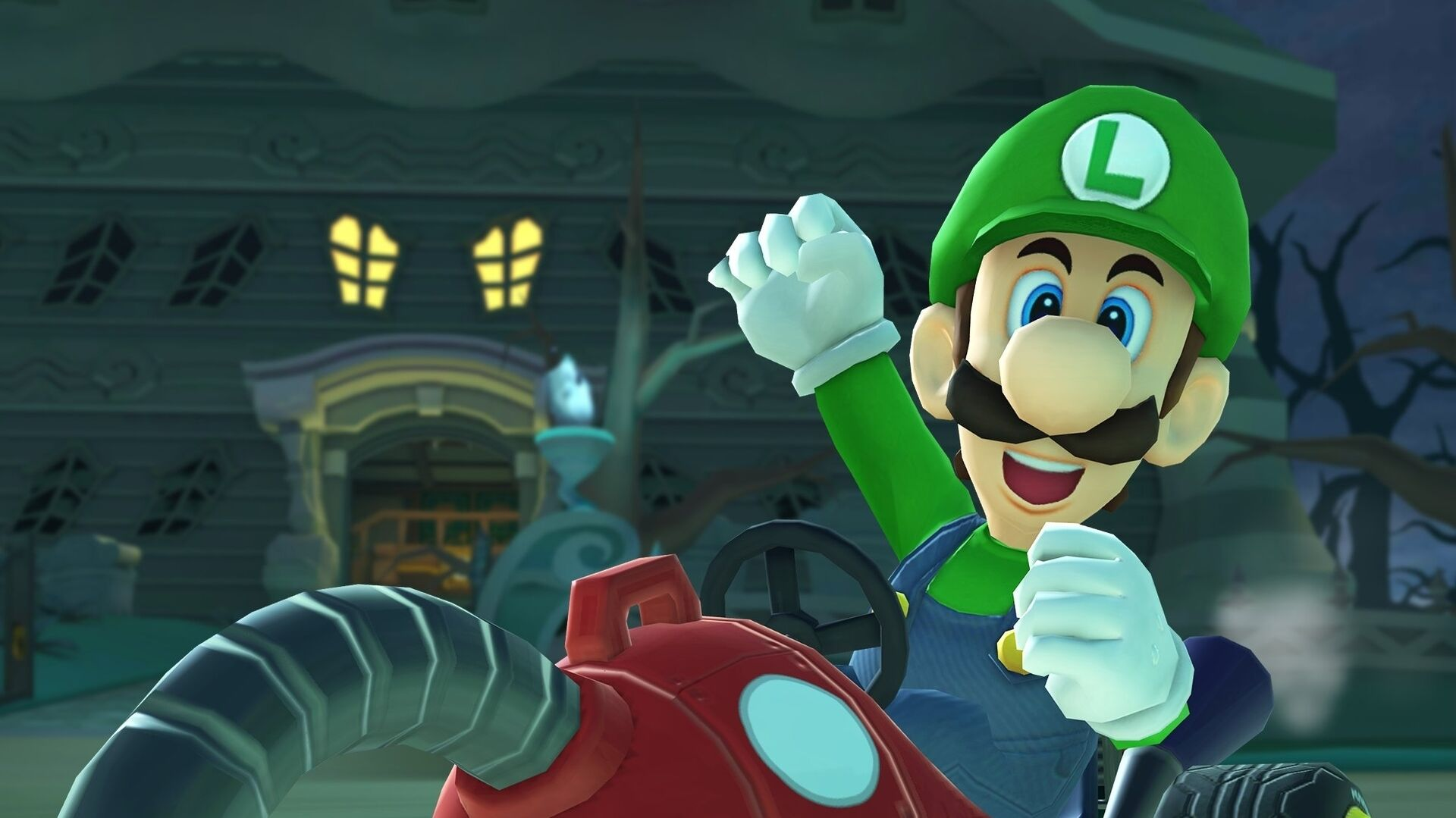 Nintendo Dusts Off Mario Kart Ds Luigi S Mansion Course For Mario