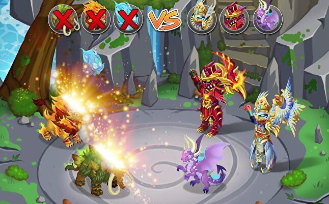 According to App Annie, Knights and Dragons has topped the App Store's highest grossing charts in over a dozen countries