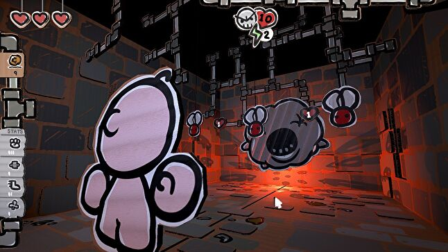 Bum-bo's world should still be immediately recognizable for Isaac fans