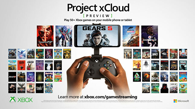 The xCloud preview is expanding to three new markets and now features over 50 games
