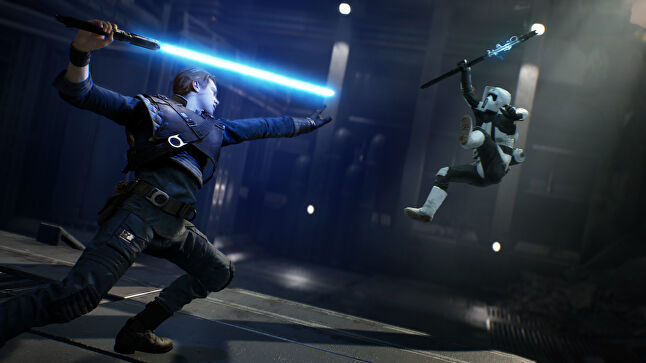 Respawn's experience with combat shines through in Fallen Order's lightsabre and Force mechanics