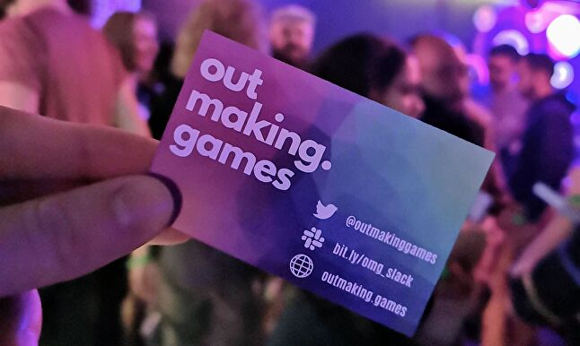 The Out Making Games team will be in constant communication with its community via Slack and Twitter, and running more events to attract more members