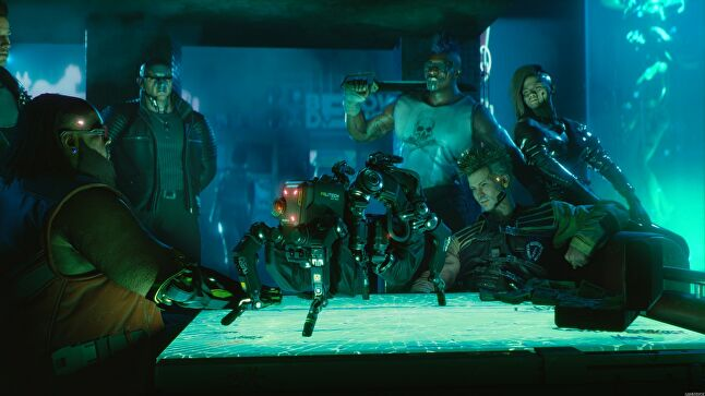 Pondsmith is working with CD Projekt Red on the eagerly anticipated Cyberpunk 2077