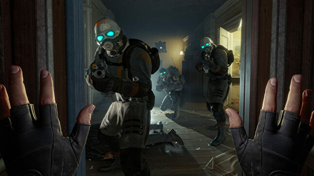 Half-Life was the tool valve wielded to establish Steam as a marketplace, and it may be trying the same trick again for VR
