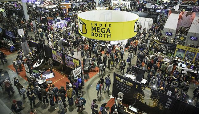 The Indie Megabooth