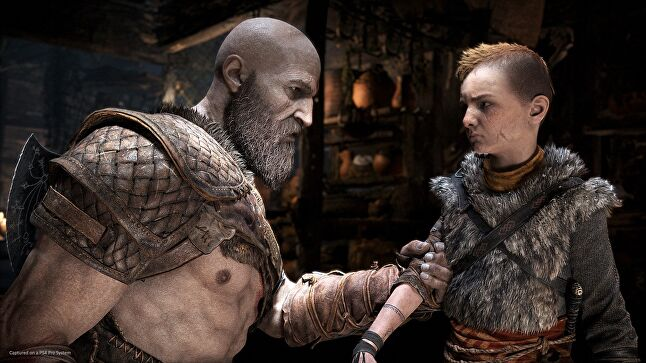 Kratos and Atreus get bonding time when they're not rending enemies limb from limb