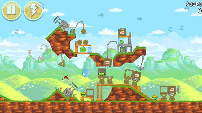 The original Angry Birds was initially driven by its free-to-play Lite version, but regular updates to the $0.99 full game kept it at the top of the full-year download charts for years to come