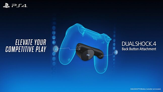 Sony's DualShock 4 Back Button Attachment