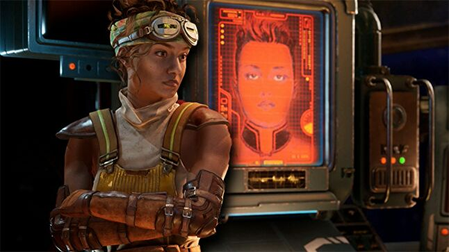 Two of the best characters in games in 2019 standing side by side -- The Outer Worlds was a treat for those who like smart, witty writing