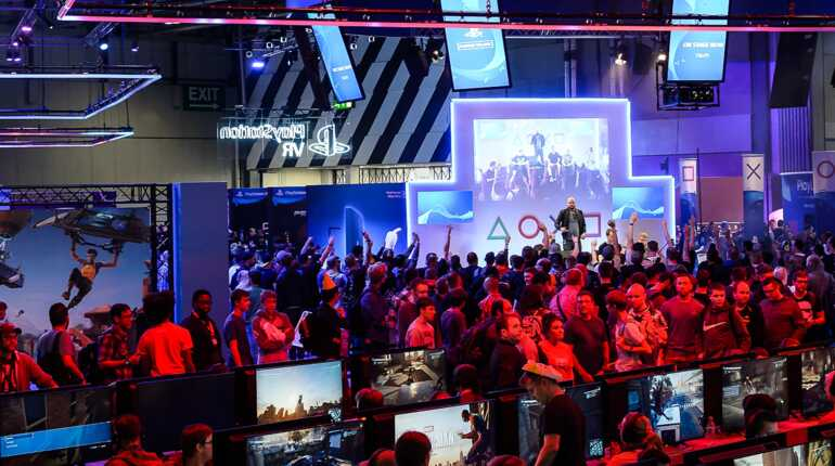 The EGX Gaming Area
