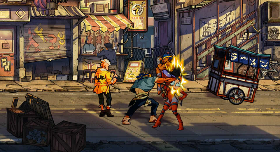 Streets Of Rage 4 is playable at EGX