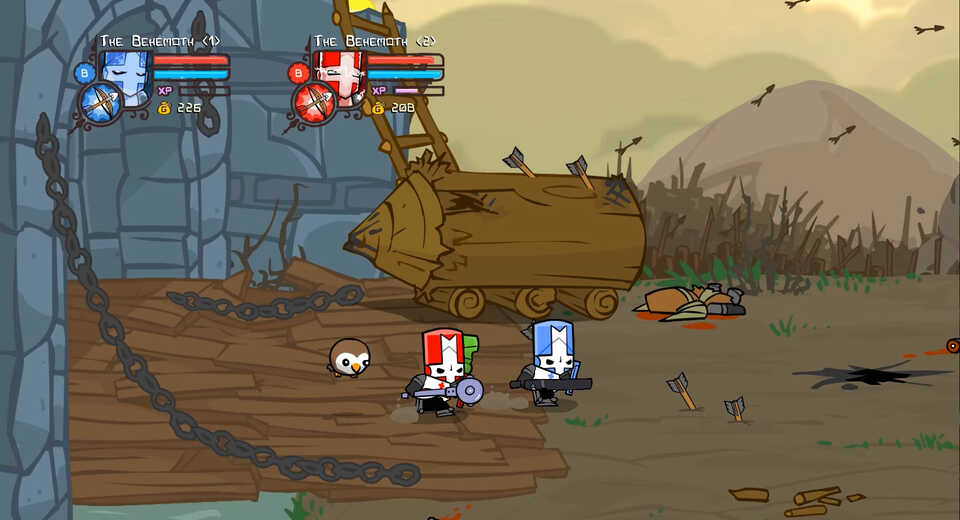 Castle Crashers Remastered will be playable at EGX