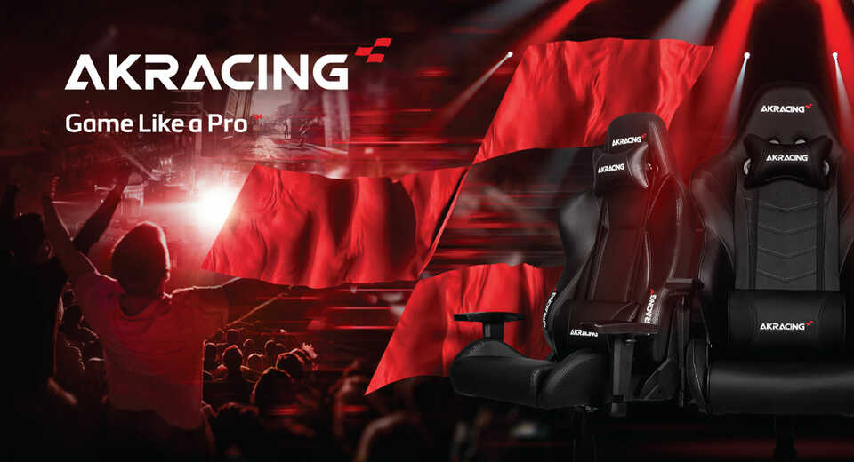 AKRacing becomes the Official Gaming Chair of EGX