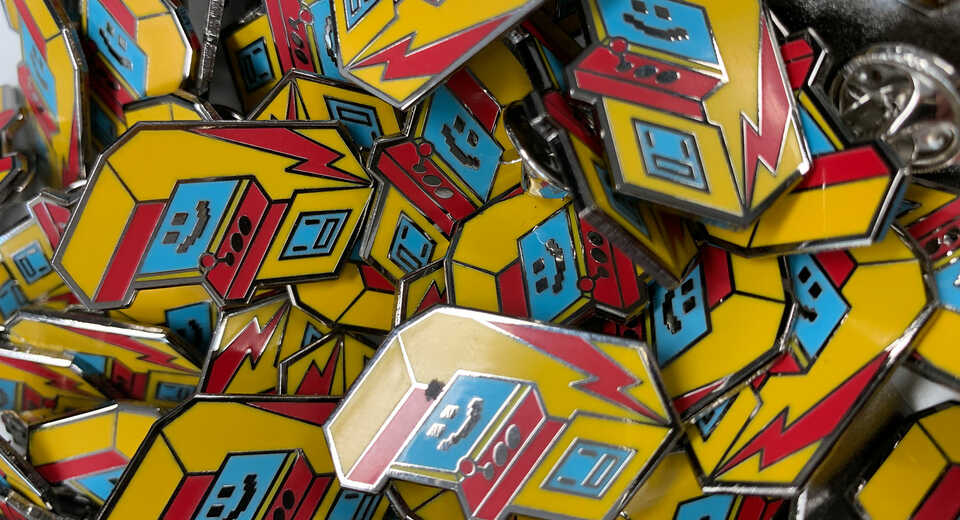 Free limited edition pin badge for all EGX2019 super pass holders