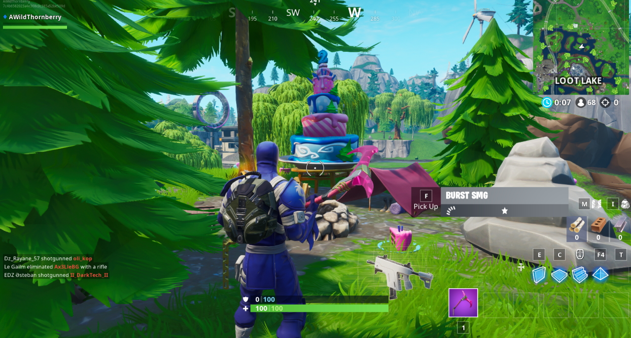 Fortnite All Birthday Cake Locations Dance In Front Of Different Birthday Cakes Metabomb