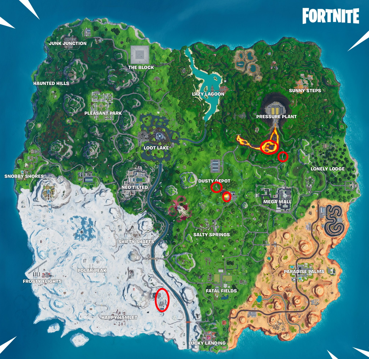 Fortnite Where To Search Chests Inside Containers With