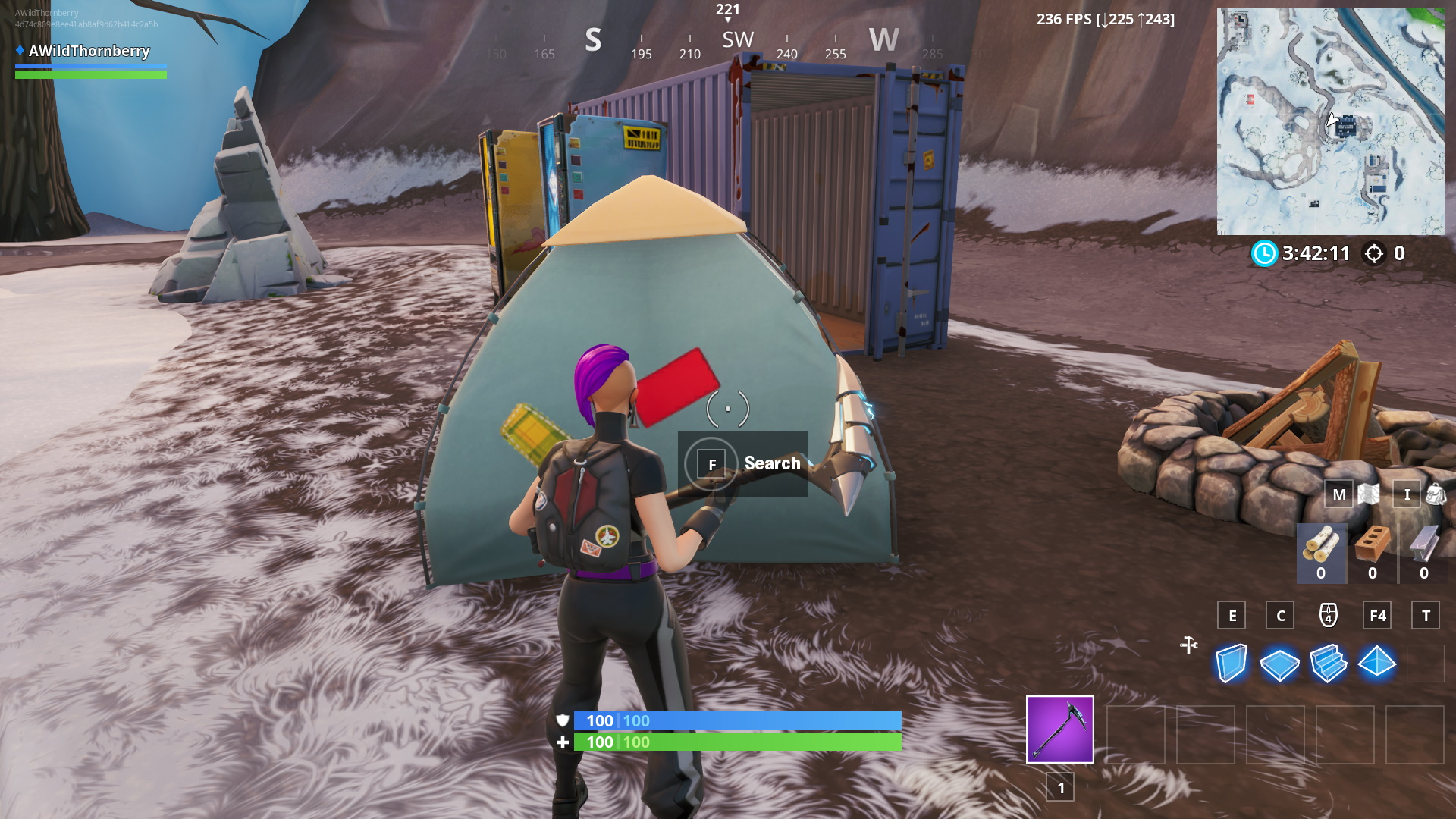 Fortnite: All Lost Spray Can locations - Metabomb