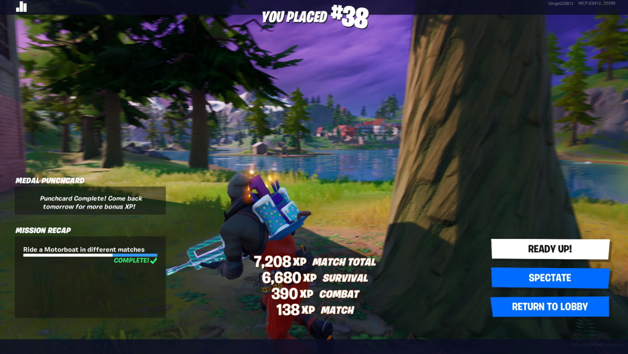 Fortnite Für Windows 10 how to earn medals and xp to level up in fortnite chapter 2