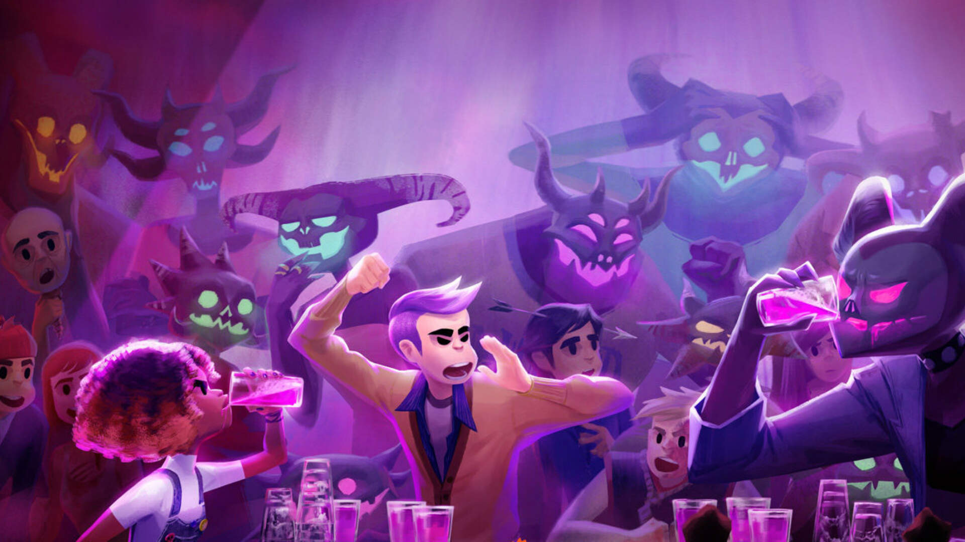 Afterparty is the Ultimate Drunken Bender From The Folks Who Brought You Oxenfree