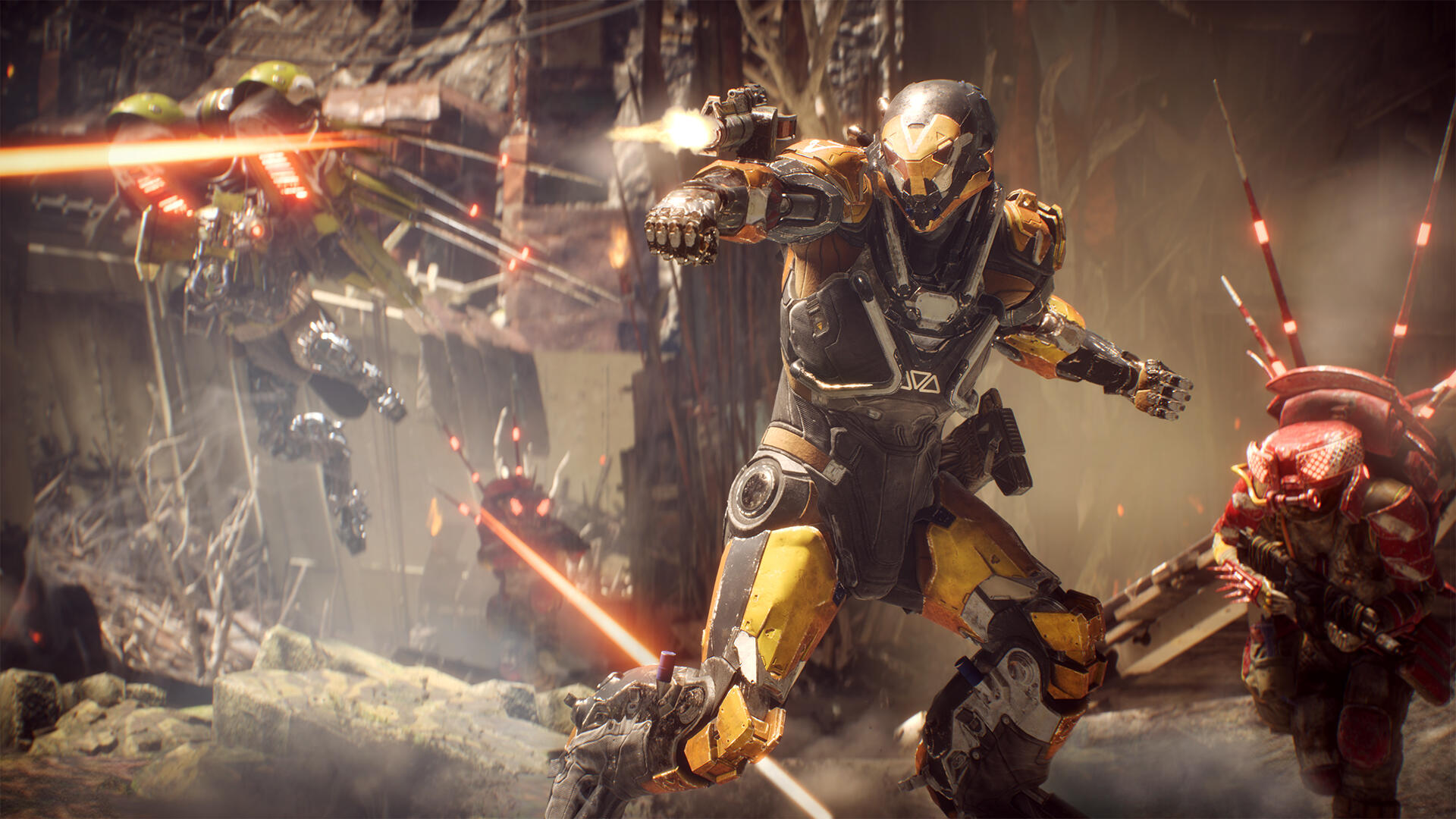 Anthem Reportedly Causing Serious PS4 Crashes, Sometime