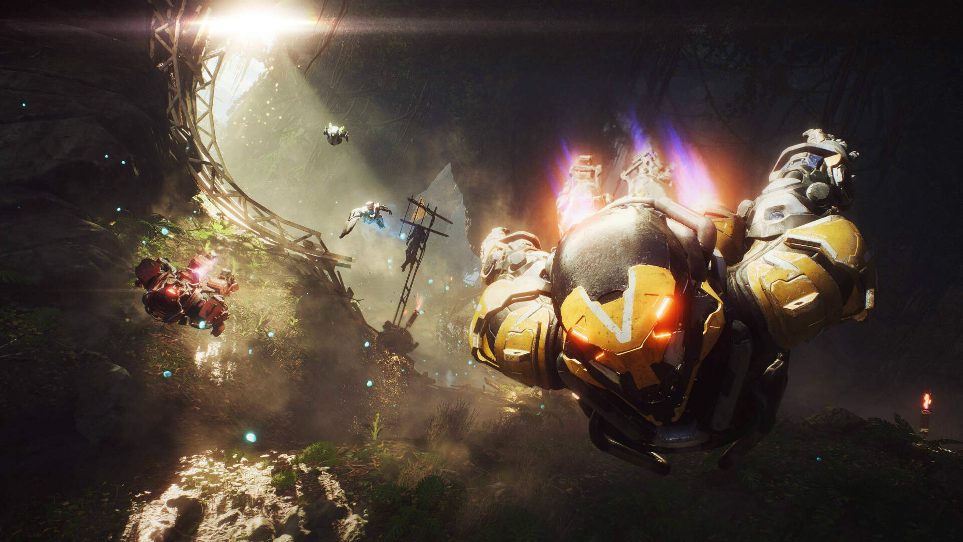 BioWare Only Added Flight to Anthem to Impress an EA Executive