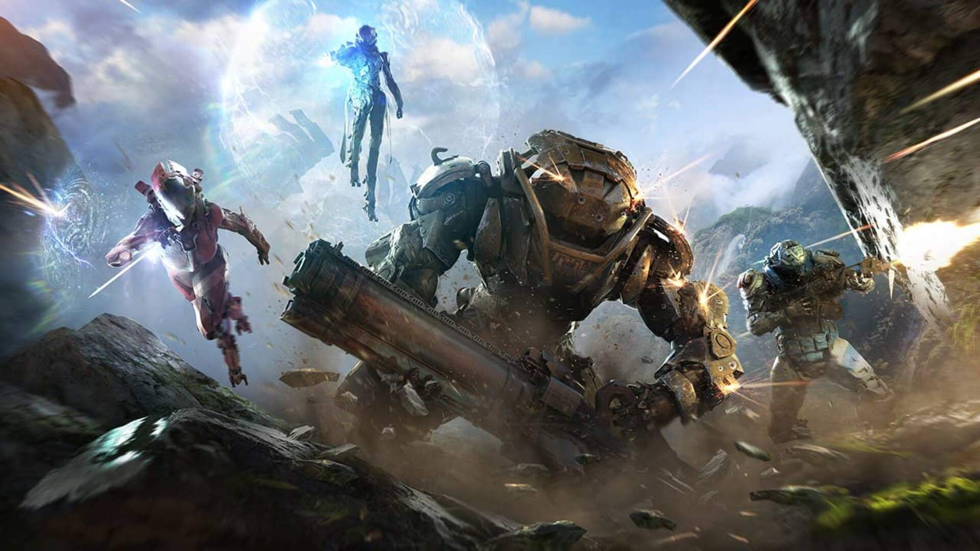 Anthem is the Stompy Robot Equivalent of Dynasty Warriors