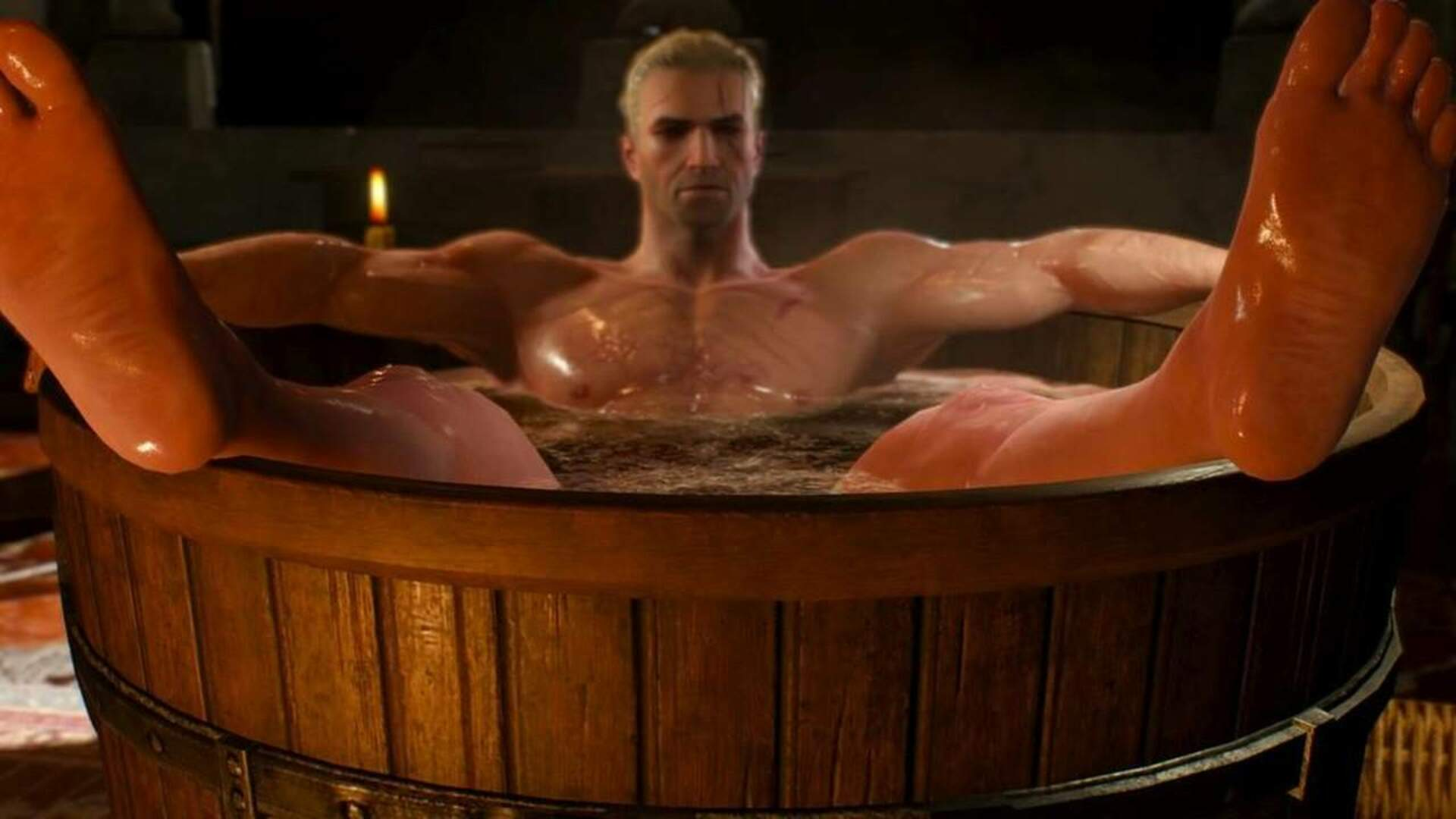 Netflix's The Witcher Will Have a Bathtub, But They Won't Say Who's In It