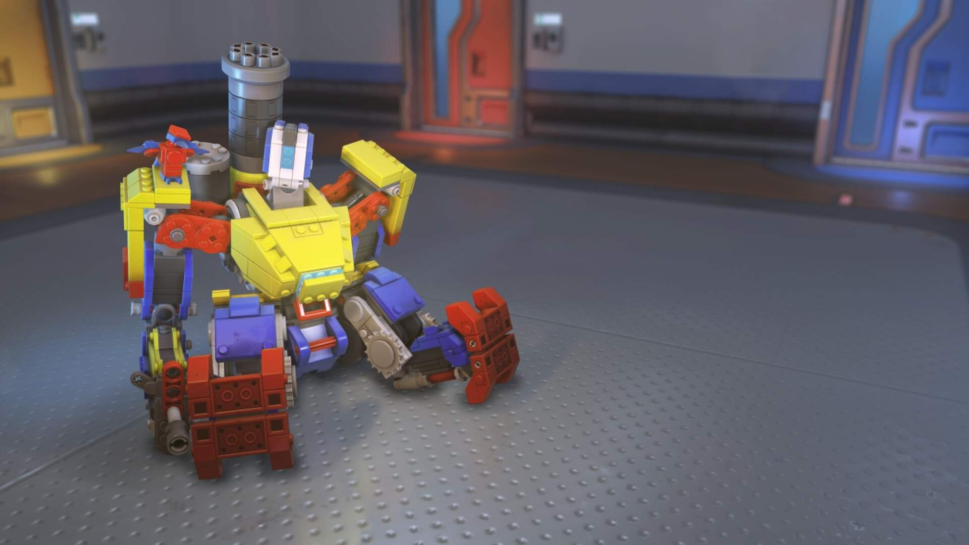 Overwatch's Bastion Gets an Adorable Lego Skin for New Event