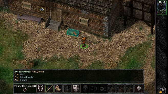 Baldur's Gate's Complex Interface Translates Surprisingly Well to Switch