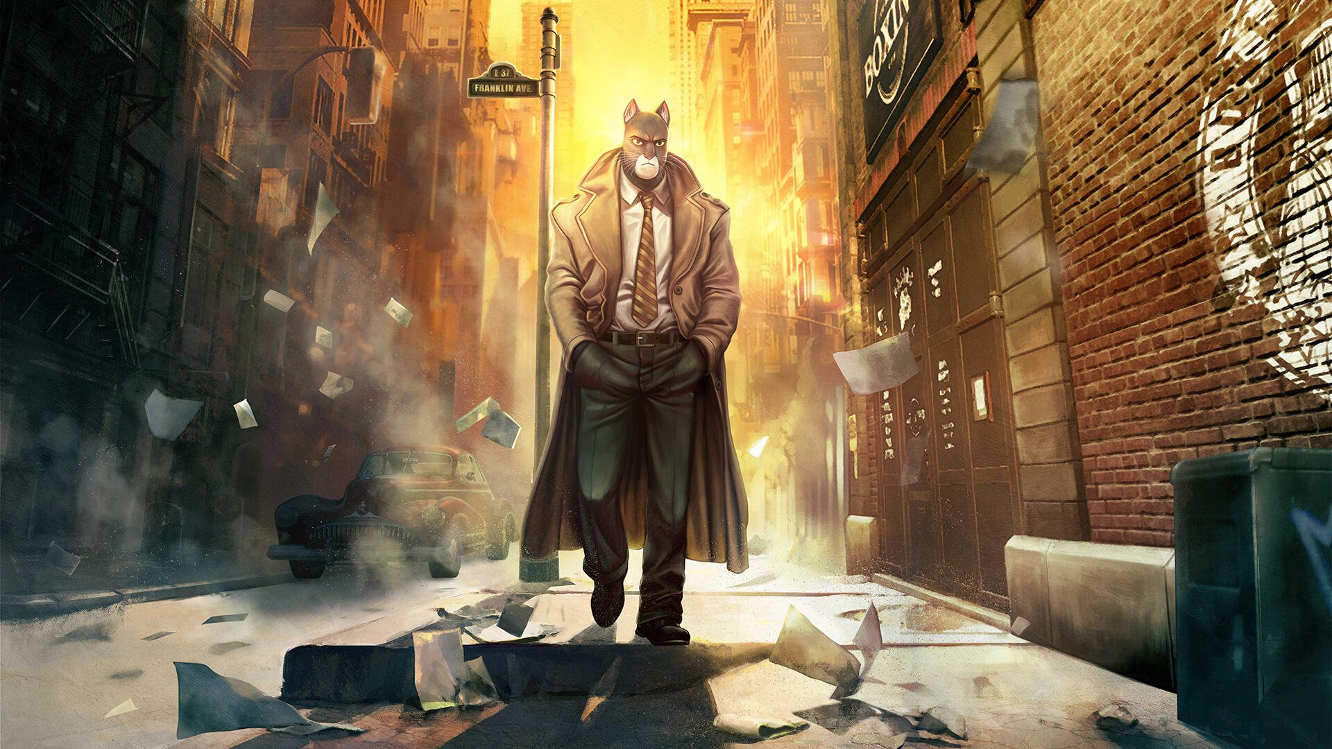 Blacksad: Under the Skin Stars a Feline as a Detective, But It's No Kid-Friendly Zootopia