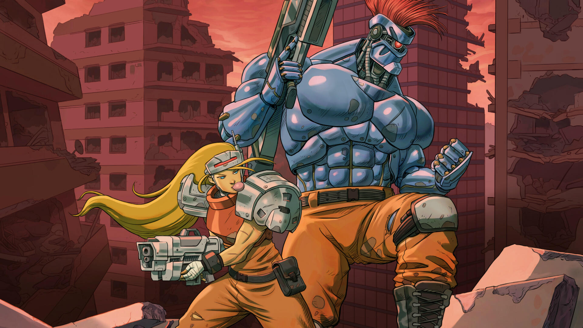 Blazing Chrome Gets Contra in a Way that Contra: Rogue Corps Does Not